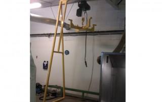 Fixed Semi Free Standing Gantry