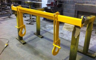 Roll Lifting Beam Hooks