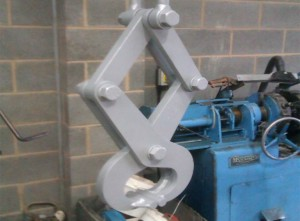 Simplex Type Rail Section Lifting Grab