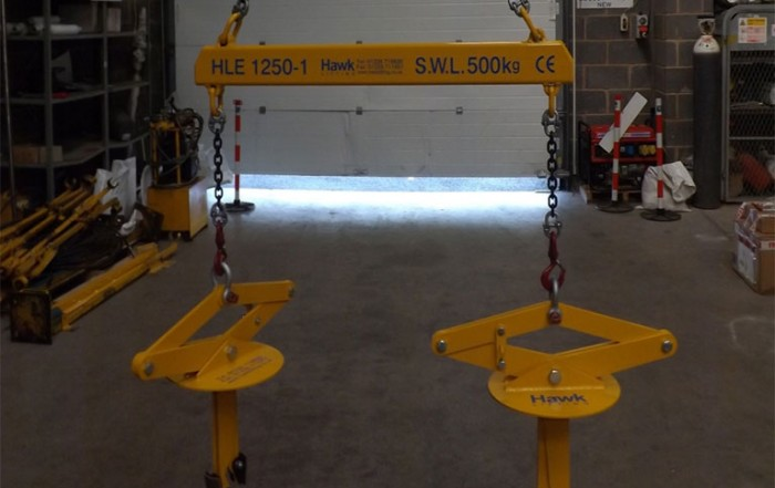 Spreader Type Lifting Beam Grabs
