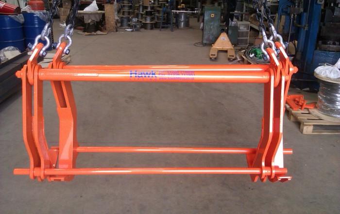 Tandem plate lifting hooks - SWL 6t
