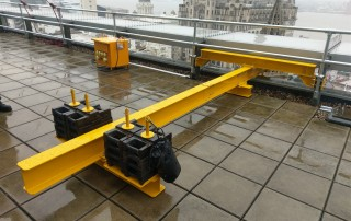 Counterbalanced lifting beam/frame - SWL 500kg